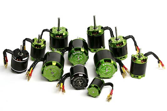 Savox Outrunner Brushless Motors