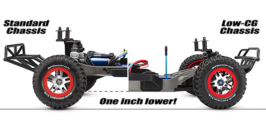 Slash 4X4 Low-CG Conversion Kit
