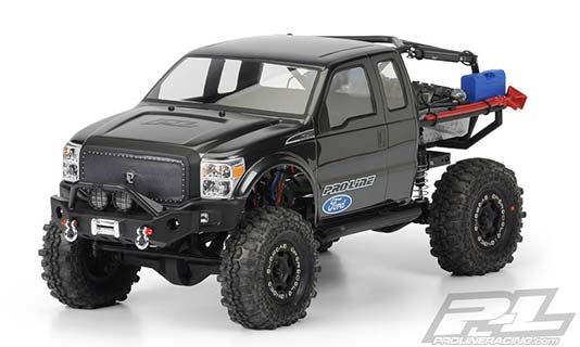 Ford F-250 Super Duty Cab Axial Honcho from Proline Racing