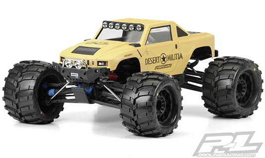 Monster Truck Desert Militia Body