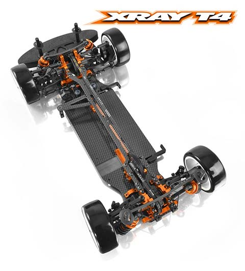 XRAY T4 top chassis