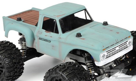 1966 Ford F-100 body for Traxxas Stampede from Proline