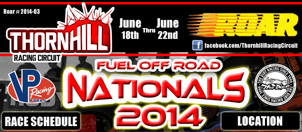 Thornhill Racing Circuit host of the ROAR Nationals