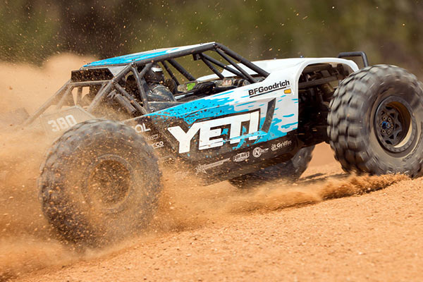 Axial Yeti in action