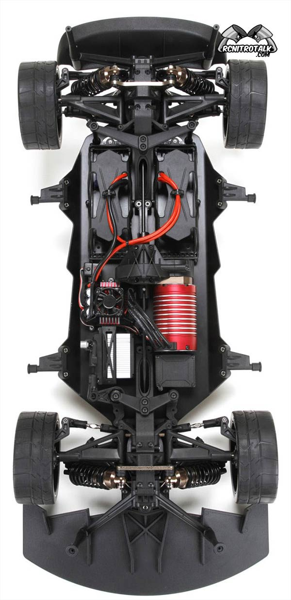 Losi Audi R8 chassis top