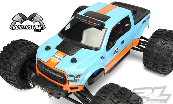 2017 Ford F-150 Raptor Clear Body top view