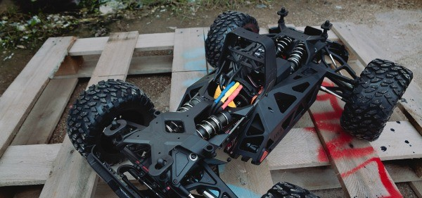 Arrma Nero Big Rock Chassis