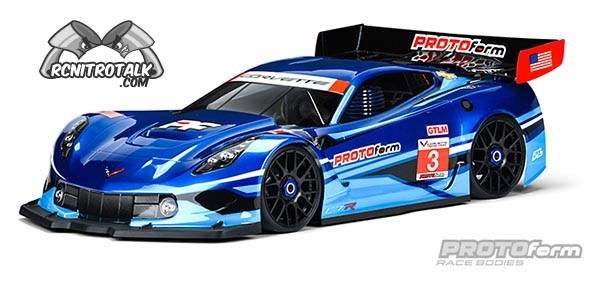 Corvette C7.R clear body 1551-40