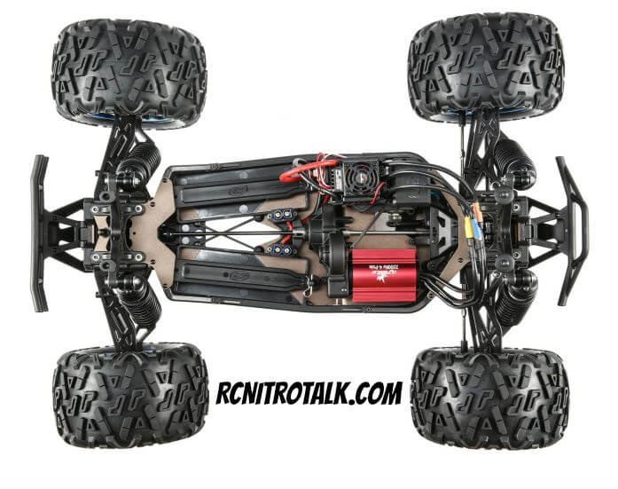 Losi LST-3XL-E chassis