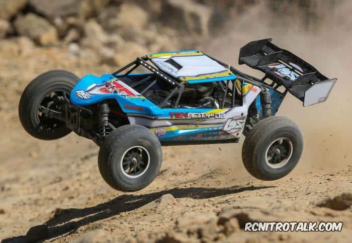 Tenacity Desert Buggy LOS03014T2 action