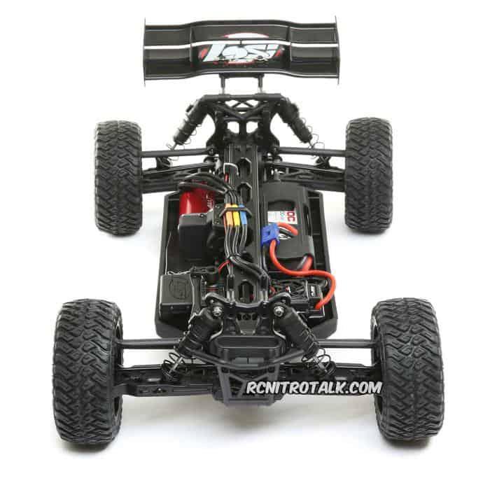 Tenacity Desert Buggy LOS03014T2 chassis