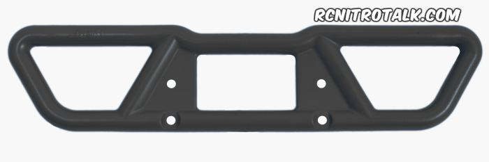rpm t-maxx rear bumper 73802 in black