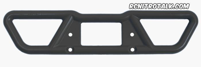 rpm t-maxx rear bumper 73802 in black