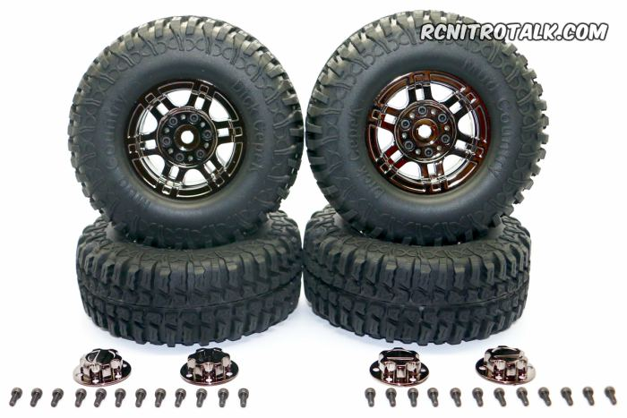 HRC Racing 1.9 Mud Country Crawler Tires