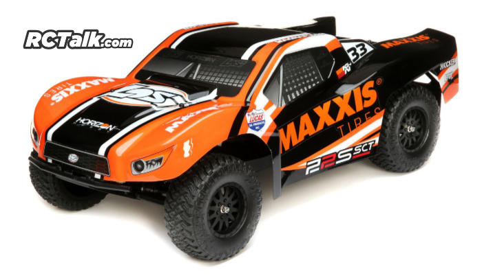 Losi 22S Maxxis 2WD SCT - LOS03013T1