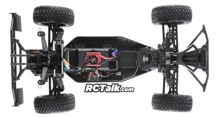 losi 22S Maxxis 2WD SCT chassis