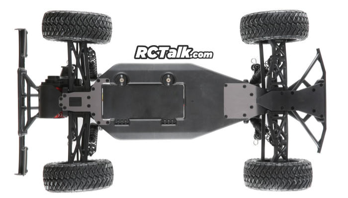losi 22S Maxxis 2WD SCT under chassis