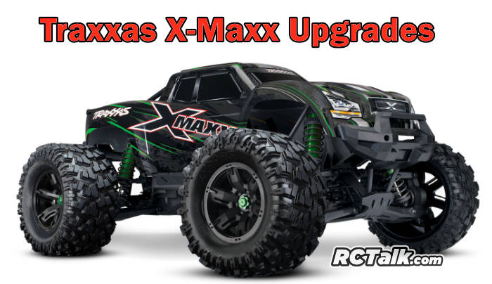 Recommended X-Maxx upgrades