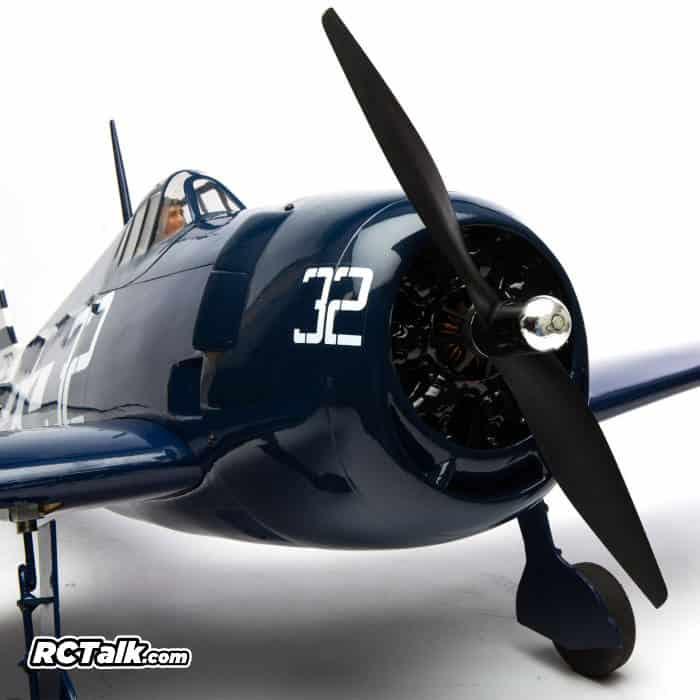 HANGAR 9 F6F Hellcat front