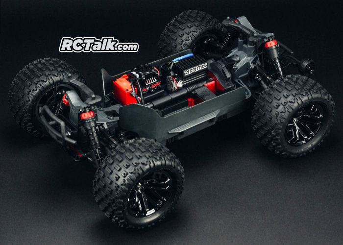 arrma granite 4x4 blx chassis