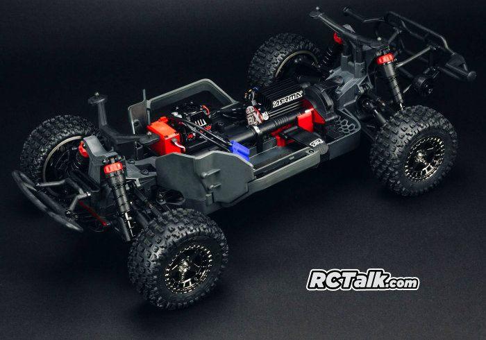 arrma senton 4x4 blx chassis