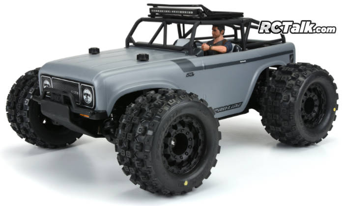 pro-line ambush mt 4005-002 front side