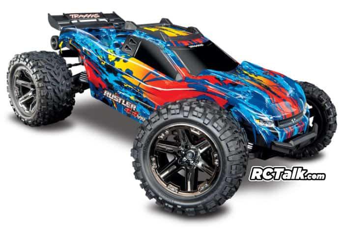 Traxxas Rustler 4x4 VXL 67076-4 front