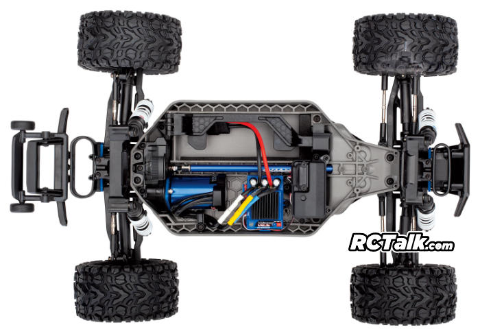 Traxxas Rustler 4x4 VXL chassis