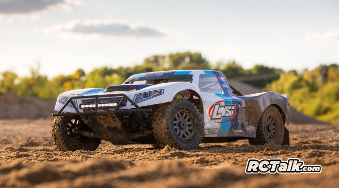 Losi 5ive-t 2.0 blue