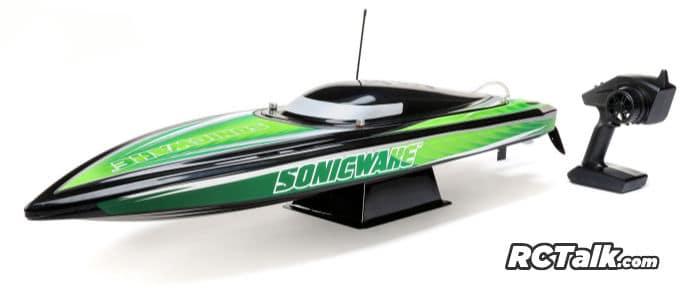 sonicwake deep-v boat