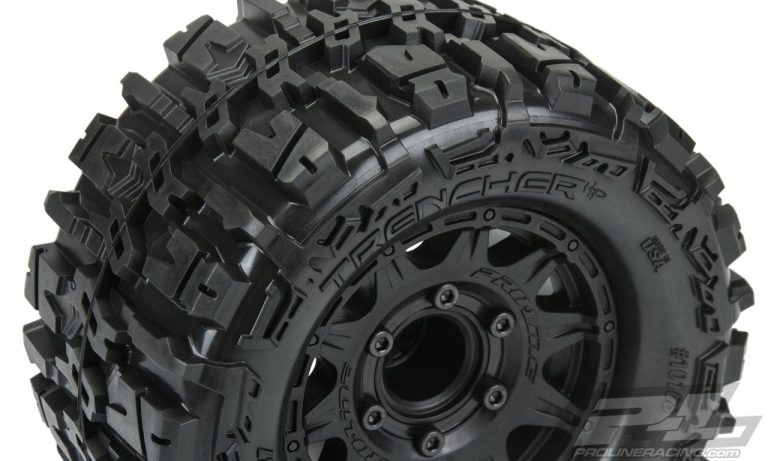 Belted Proline Trencher 2.8″ Pre-Mounted Tires