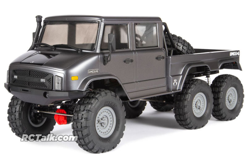axial scx10 umg10 front side