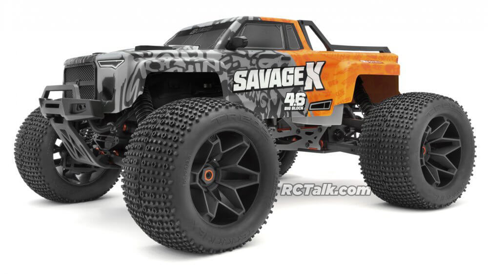 HPI Savage X 4.6 and Savage Flux revealed