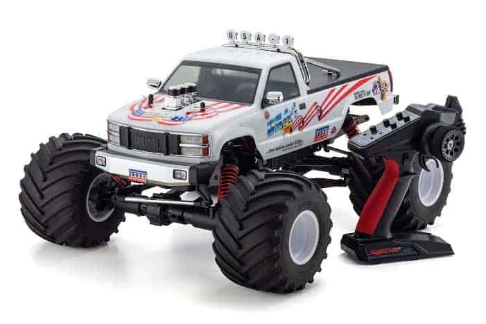 Kyosho USA-1 VE 4S Monster Truck Promo Video