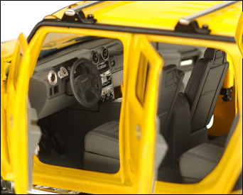 So Real Concepts Hummer Interior
