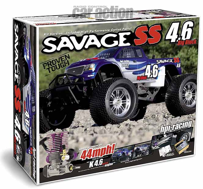 HPI Savage 4.6 kit box