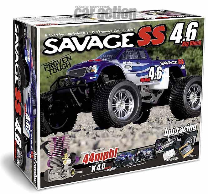 HPI Savage 4.6 kit box